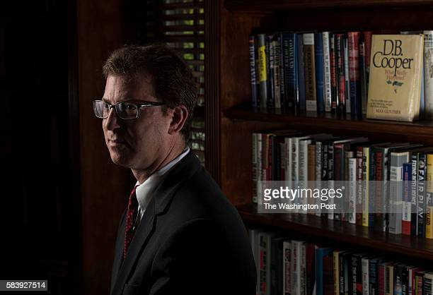National security lawyer Mark Zaid is photographed at his home in metro Washington DC area on Wednesday July 20 2016 The infamous hijacking case with...
