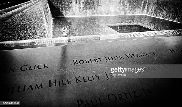 National September 11 Memorial Inscriptions of names, Ground Zero, NYC
