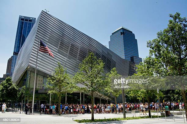 National September 11 Memorial Museum, Visitor Line, New York City