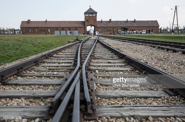 National Socialist Concentration and Extermination camp Auschwitz II Here an estimated 11 to 15 million people mostly of Jewish origin were murdered...