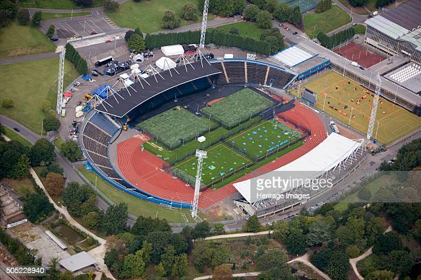 National Sports Centre, Crystal Palace Park, London, 2006. The National Sports Centre opened in 1964 as the home of UK athletics. The stadium has a...