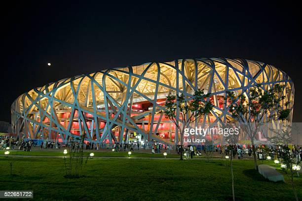 national stadium of china - 国立オリンピック競技場 ストックフォトと画像