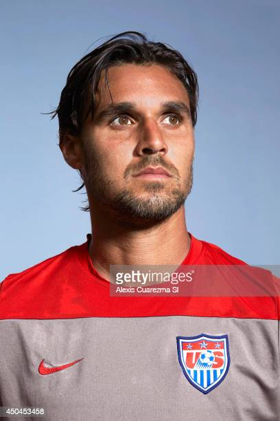 US national team Chris Wondolowski is photographed for Sports Illustrated on May 24 2014 in Palo Alto California PUBLISHED IMAGE CREDIT MUST READ...