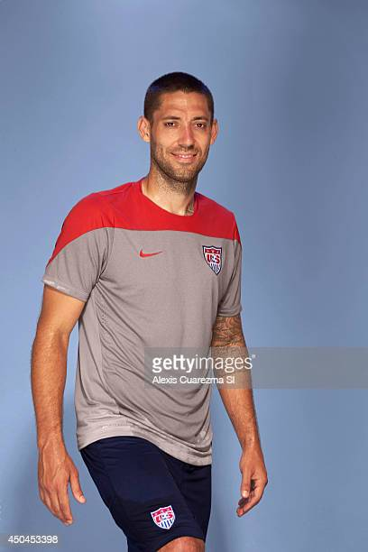US national team Clint Dempsey is photographed for Sports Illustrated on May 24 2014 in Palo Alto California CREDIT MUST READ Alexis Cuarezma/Sports...