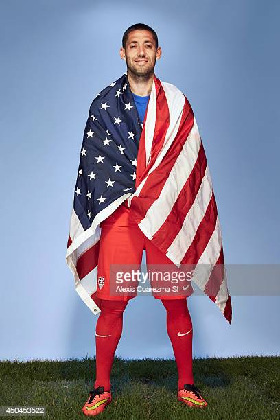 US national team Clint Dempsey is photographed for Sports Illustrated on May 24 2014 in Palo Alto California COVER IMAGE CREDIT MUST READ Alexis...