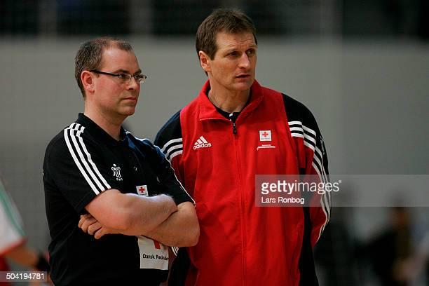 National team coach Jan Pytlick assistantcoach Kim Jensen Danmark