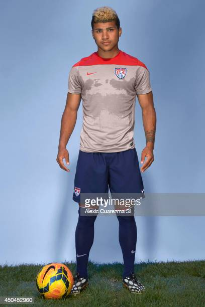 National team, DeAndre Yedlin is photographed for Sports Illustrated on May 24, 2014 in Palo Alto, California. PUBLISHED IMAGE. CREDIT MUST READ:...
