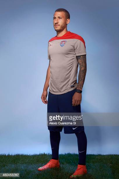 US national team Fabian Johnson is photographed for Sports Illustrated on May 24 2014 in Palo Alto California PUBLISHED IMAGE CREDIT MUST READ Alexis...