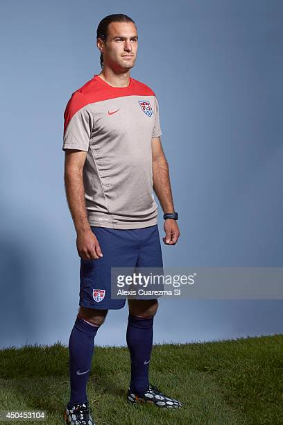 National team, Graham Zusi is photographed for Sports Illustrated on May 24, 2014 in Palo Alto, California. CREDIT MUST READ: Alexis Cuarezma/Sports...
