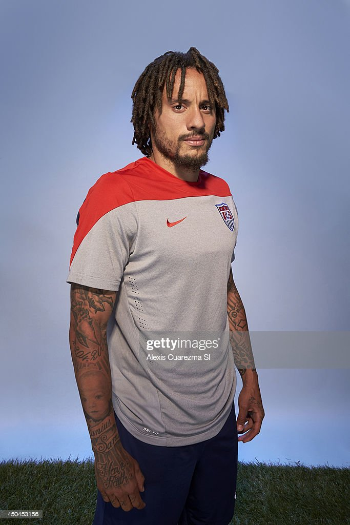 US national team, Jermaine Jones is photographed for Sports Illustrated on May 24, 2014 in Palo Alto, California.