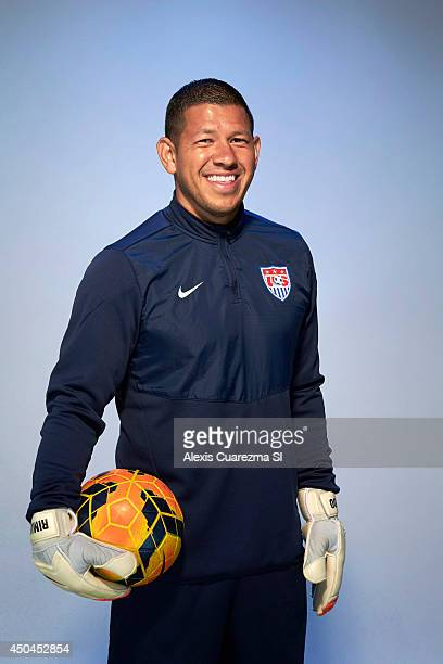 US national team Nick Rimando is photographed for Sports Illustrated on May 24 2014 in Palo Alto California PUBLISHED IMAGE CREDIT MUST READ Alexis...