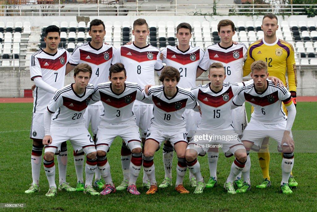 U19 Greece v U19 Germany - U19 Invitational Tournament : News Photo
