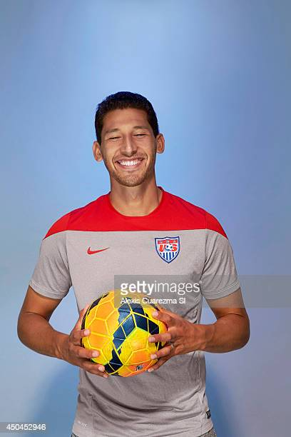 National team, Omar Gonzalez is photographed for Sports Illustrated on May 24, 2014 in Palo Alto, California. PUBLISHED IMAGE. CREDIT MUST READ:...