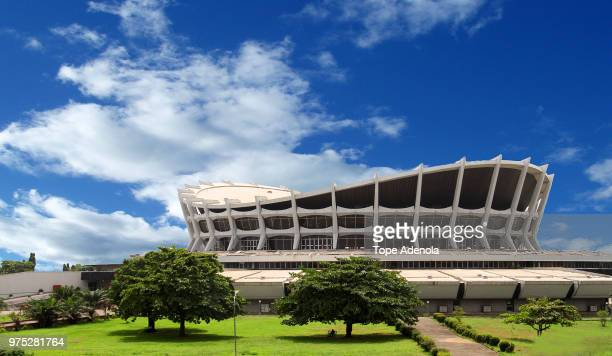 national theatre lagos - nigeria stock pictures, royalty-free photos & images