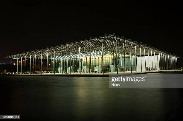 national theatre of bahrain - manama stock pictures, royalty-free photos & images