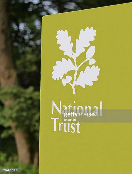 National Trust sign UK
