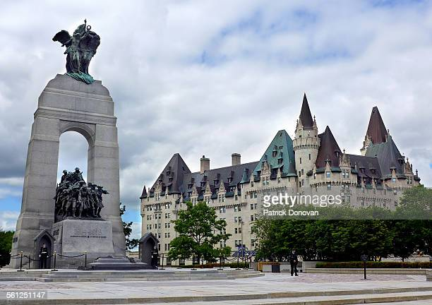 National War Memorial and Chateau Laurier, Ottawa