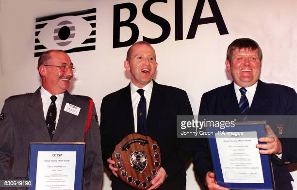 National winners of the Service to Customer award at the 2001 Security Officer Awards at Grosvenor House Hotel in central London * Robert Carson of...