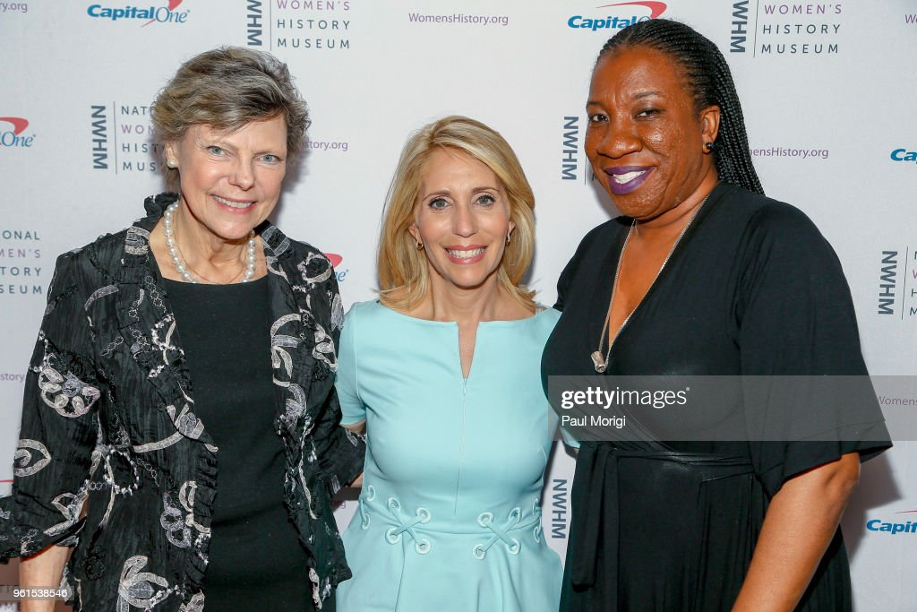 National Women's History Museum's Annual Women Making History Awards In Washington DC Honoring Tarana Burke And Cokie Roberts