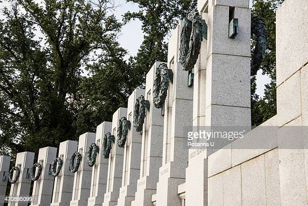 national world war ii memorial, united states of america - patriotism stock photos and pictures