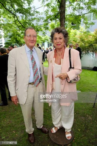 Nationalfeiertag Frankreich 14 Juli französischer französisch Lea Rosh mit Olaf Lemke