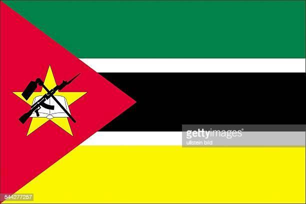 Nationalflagge Mosambik 2005