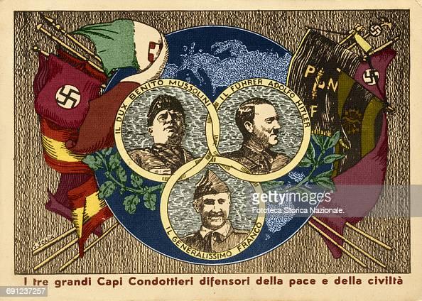 Nationalism, Fascism, Nazism, Mussolini, Hitler, Franco ...