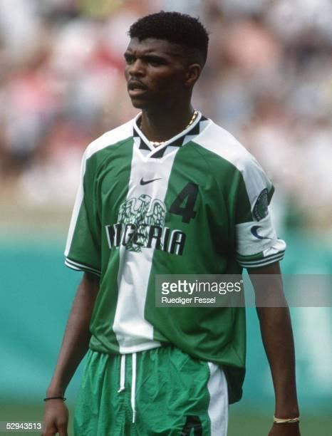 Nationalmannschaft 1996 NIGERIA/NGA 03.08.96, Nwankwo KANU - Portrait/Portraet -