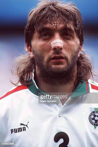 FUSSBALL Nationalmannschaft 1997/Team BULGARIEN/ 090696 Trifon IVANOV PORTRAET/PORTRAIT