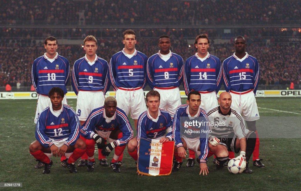 Frankreich Kader 1998