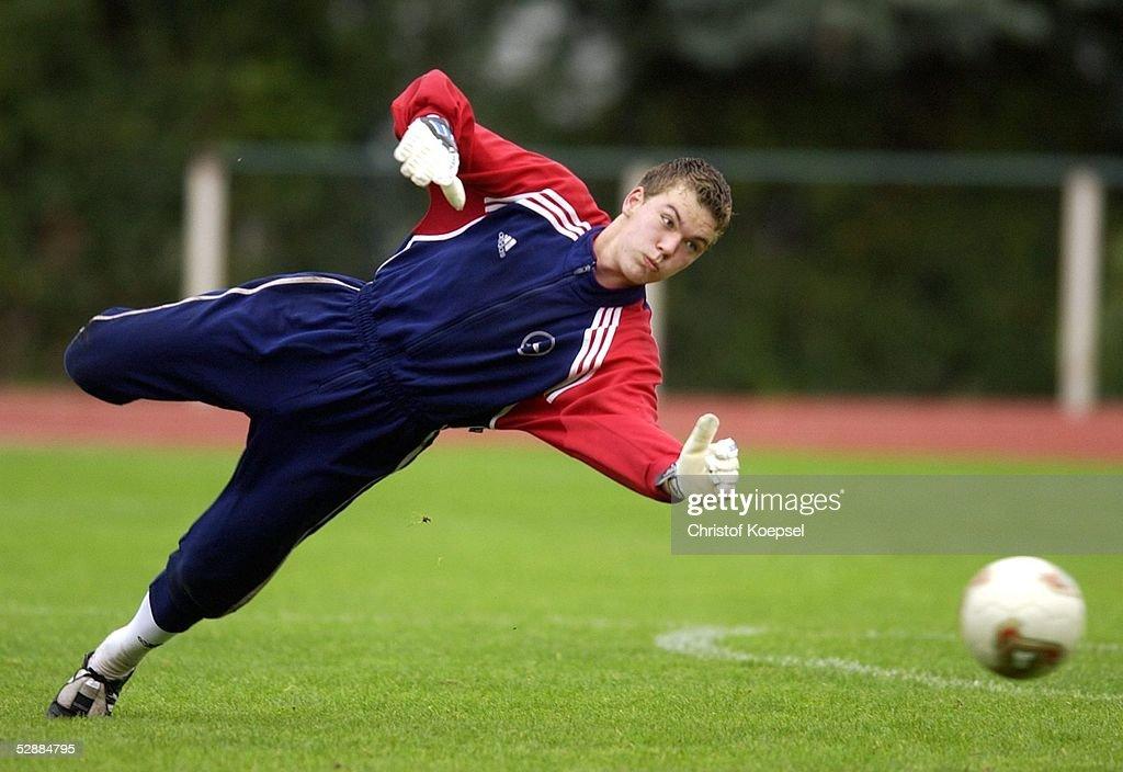 Nationalmannschaft Deutschland 2003 Wittlich Max Gruen