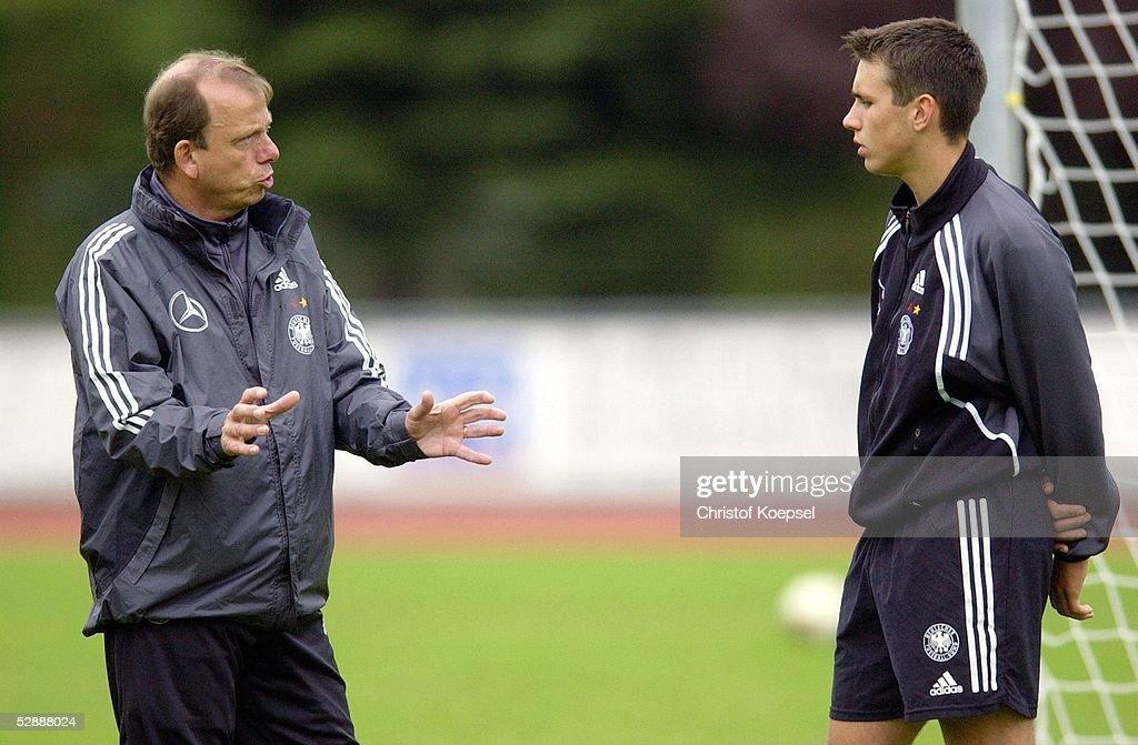 Nationalmannschaft Deutschland 2003 Wittlich Trainer Paul
