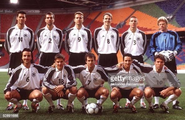 Nationalmannschaft DFB TEAM Amsterdam; hintere Reihe v.lks ...