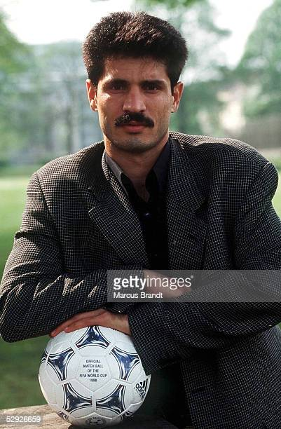 FUSSBALL Nationalmannschaft IRAN/IRN 300498 Ali DAEI PRIVAT