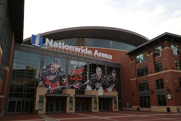 Nationwide Arena in Columbus, Ohio, USA