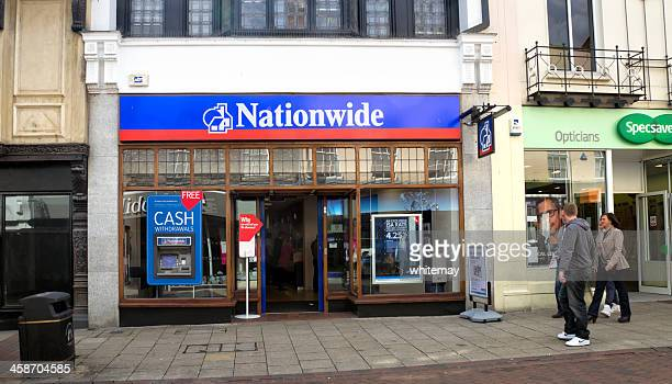 Nationwide Building Society in central Ipswich, Suffolk