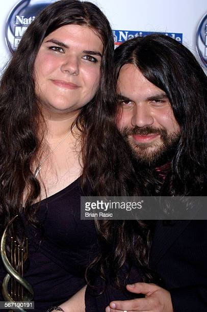 Nationwide Mercury Music Awards At The Grosvenor House Hotel London Britain 06 Sep 2005 The Magic Numbers Michele And Romeo Stodart