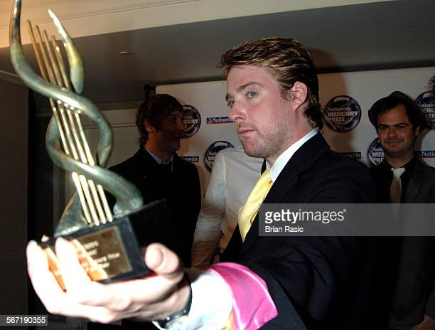 Nationwide Mercury Music Awards At The Grosvenor House Hotel London Britain 06 Sep 2005 Kaiser Chiefs Ricky Wilson