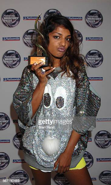 Nationwide Mercury Music Awards At The Grosvenor House Hotel London Britain 06 Sep 2005 MIA Maya Arulpragasam