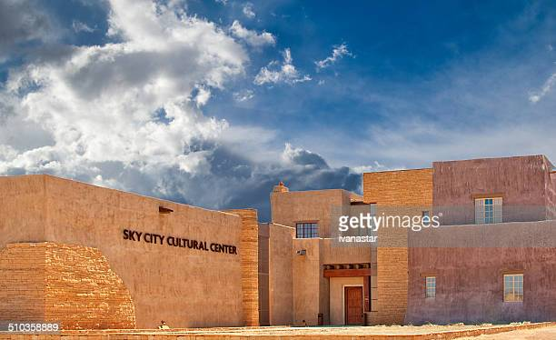 Native American Acoma Pueblo Adobe House