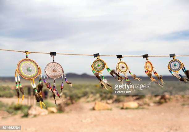 Native American crafts.