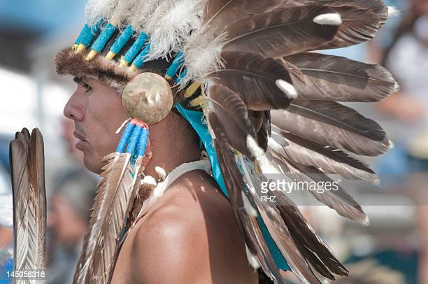 A Native American man from Pendelton Yakama Nation