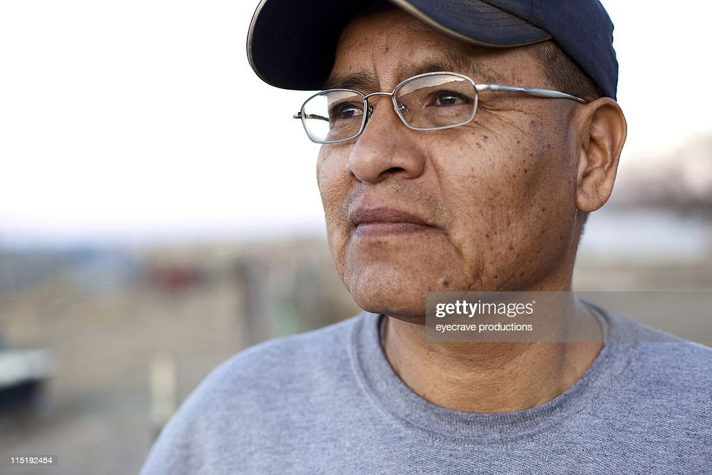 Native american people - Navajo male : Stock Photo