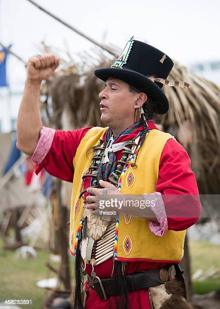 native american storyteller - storyteller stock pictures, royalty-free photos & images
