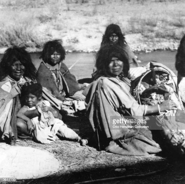 Native Americans of the Shoshone tribe in Salt Lake City Utah