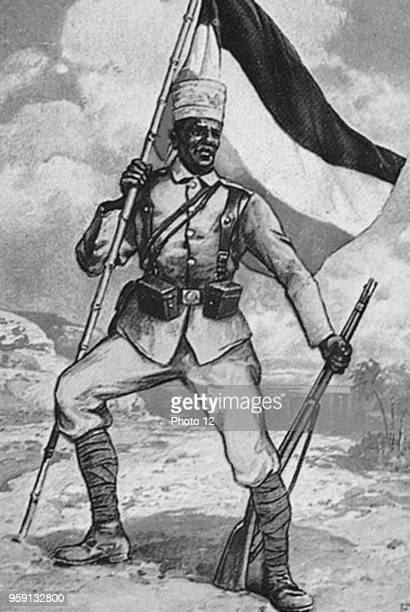 Native Askari in the German protection troops in East Africa