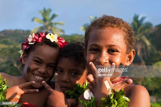 Native Children of Fiji Makogai Lomaviti Fiji