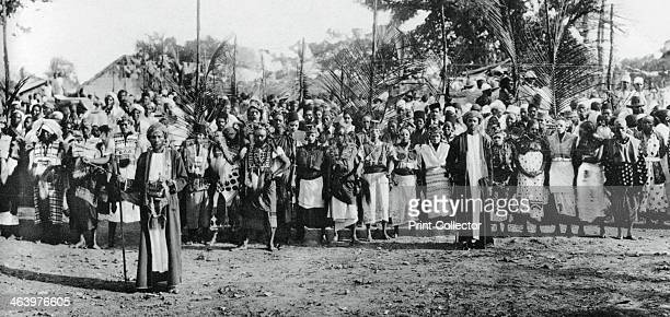 Native dancers in Mombasa 19241925 A photograph from the Illustrated London News Coronation Record Number