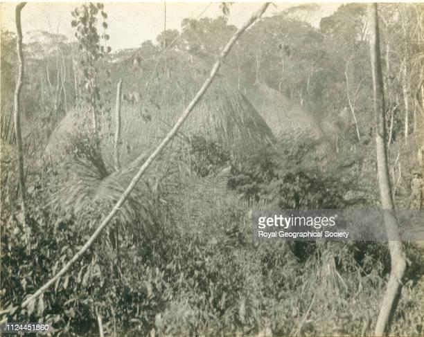Native hut Bolivia 1907 Artist Percy Harrison Fawcett