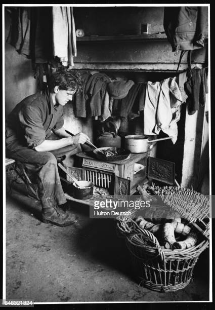 A native of the Scottish Highlands cooks a modest supper in a cramped room He is just one of the regions inhabitants suffering from the resettlement...